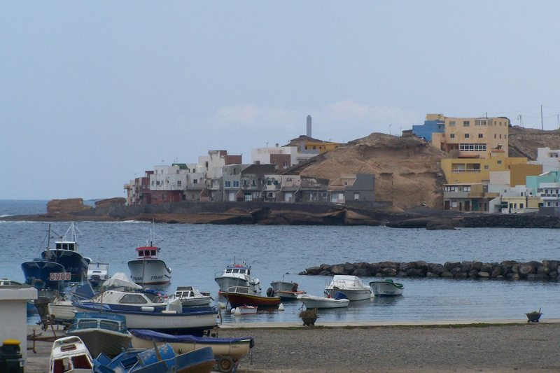 Iconic Canarian puerto.