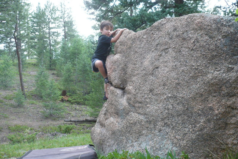 Rock Climbing Photo: Bouldering in the South Platte