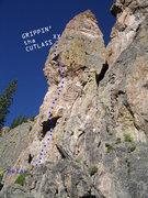 Rock Climbing Photo: It's battle time, pirate...better grip that cutlas...