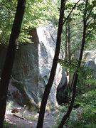 Rock Climbing Photo: the nice arete on the back of Kursowa III