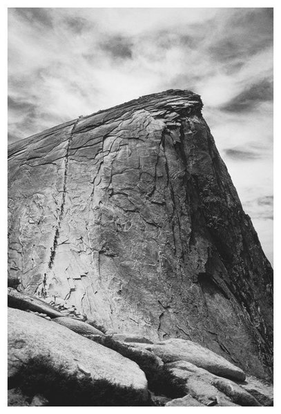 Half Dome Cables route. Memorial Day 2001.