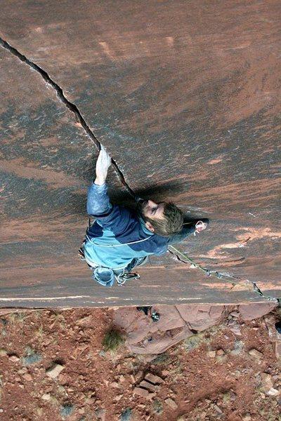 Rock Climbing Photo: The Cyborg.  Photo by: Tom Kingsbury