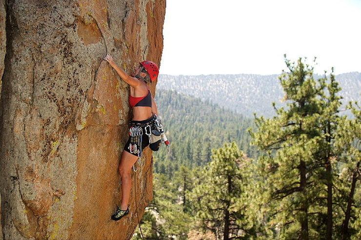 Joan Bertini leading Smokin' the Rock