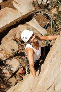 Rock Climbing Photo: Lisa Pritchett leading Bacon Taco