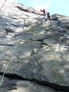 Rock Climbing Photo: Crack Tiger