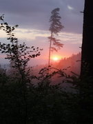 Rock Climbing Photo: nice sunset from the side of Krzyzna Gora...