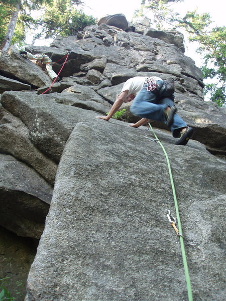Rock Climbing Photo: dancing up some slab