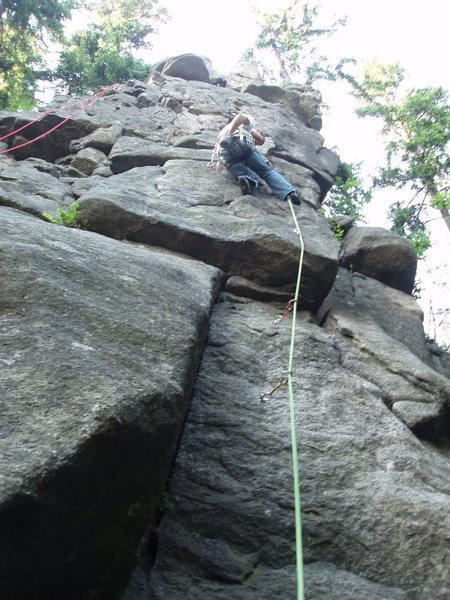 Rock Climbing Photo: mmmm chalk