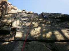 Rock Climbing Photo: a nice view of this wall...