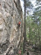 """Rock Climbing Photo: Jesse snags another """"coveted second ascent&qu..."""