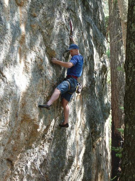 Rock Climbing Photo: EFR on the FA