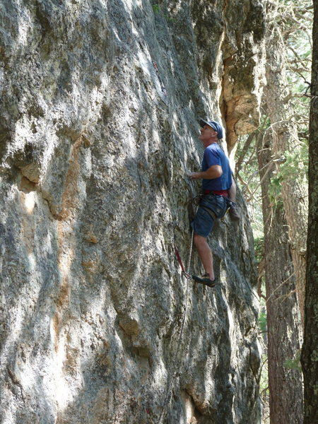 Rock Climbing Photo: and another