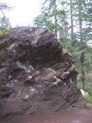 Rock Climbing Photo: to the left, Schisthead; to the right, the Prey (V...