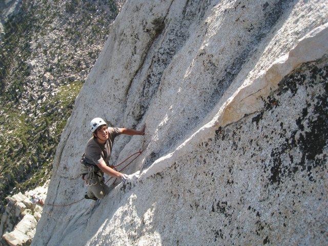 Rock Climbing Photo: Scotty Nelson on Pitch 5.