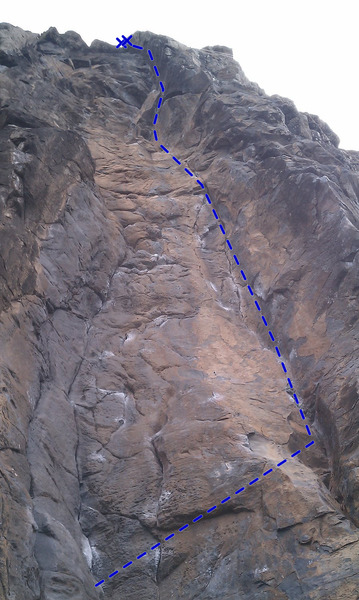 Rock Climbing Photo: Copper Dragon