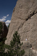 "Rock Climbing Photo: Getting ready for the ""roof"" move on Mon..."