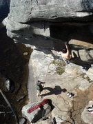 "Rock Climbing Photo: a perfect spring day with rad friends on ""Cat..."