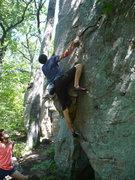 Rock Climbing Photo: Rank-Dog gettin' it
