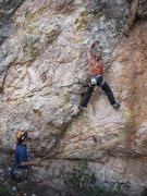 Rock Climbing Photo: This part is a little grainy but will get better w...
