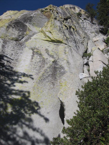Rock Climbing Photo: I believe this is the route posted here, looks pre...