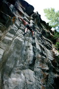 Rock Climbing Photo: Chuck Lepley on Bilbo Bagging.