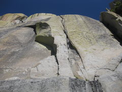 Rock Climbing Photo: Planet Waves goes up the left facing corner and Im...