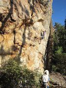 Rock Climbing Photo: FA  Photo by Chelsea Cook
