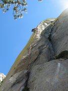 Rock Climbing Photo: phosphorescent flow,Needles,Ca