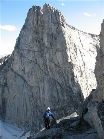Lost Temple peak, Wind Rivers,Wy