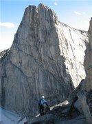 Rock Climbing Photo: Lost Temple peak, Wind Rivers,Wy