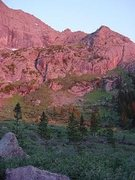 Rock Climbing Photo: Crestone Needle Sunrise