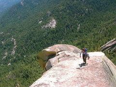 Rock Climbing Photo: Hiking to the summit
