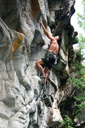 Rock Climbing Photo: Bilbo Bagging 5.11b - Independence Pass