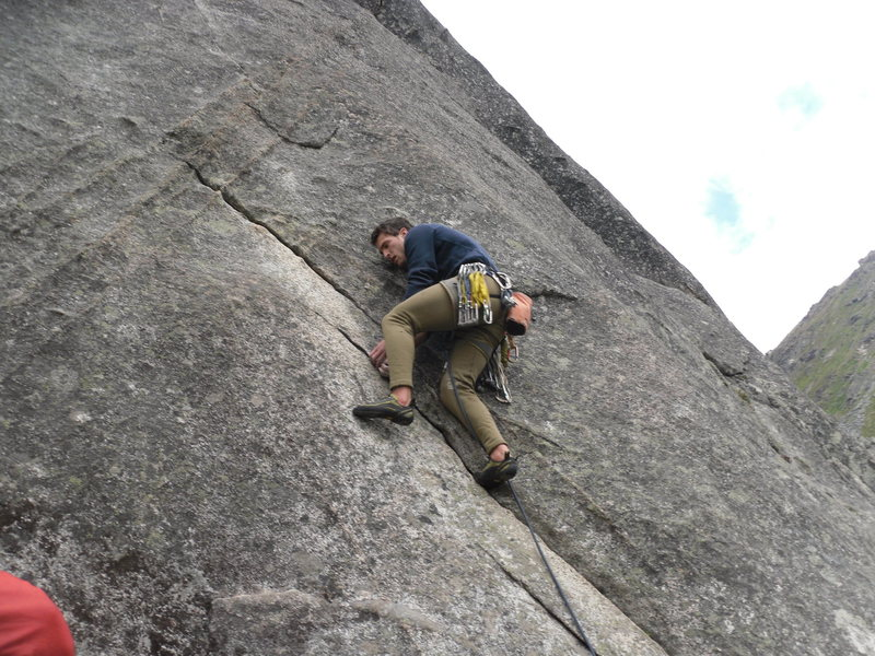 Rock Climbing Photo: Fun granite