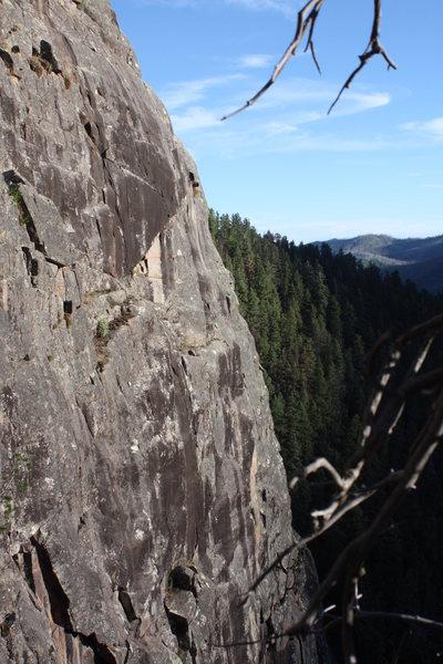 Rock Climbing Photo: High Times Wall.
