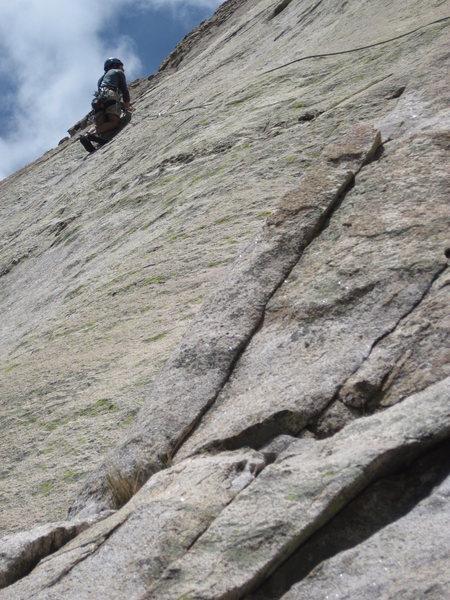 Rock Climbing Photo: Joe on Voodoo Child