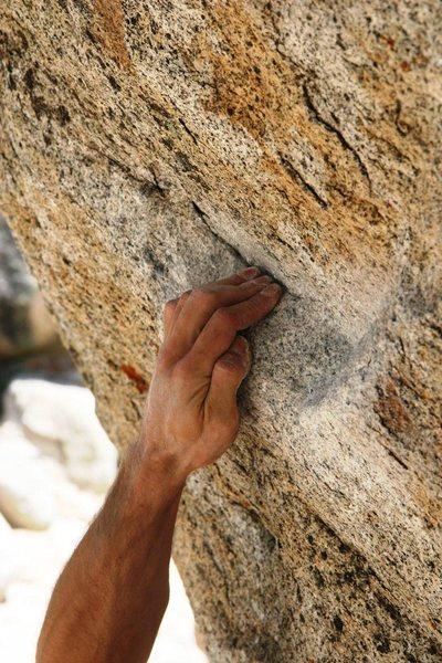 Rock Climbing Photo: Tram granite
