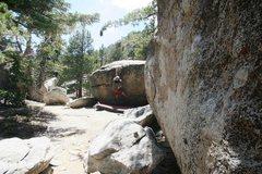 Rock Climbing Photo: Enjoying a Tram Pass on a hot summers day.
