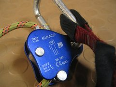 Rock Climbing Photo: CAMP Lift ascender - very small and lightweight, c...