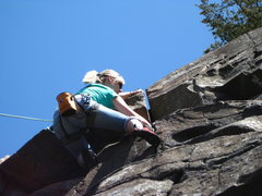 Rock Climbing Photo: can't remember which route this is...