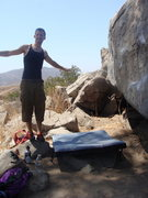 Rock Climbing Photo: What! This is my crash pad.