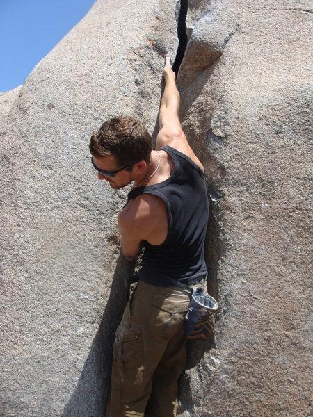 Rock Climbing Photo: Get some crack!