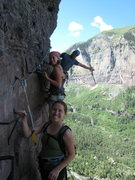 Rock Climbing Photo: The Gang on the Telluride Via Ferrata