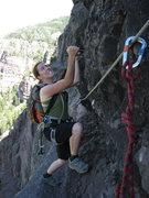 Rock Climbing Photo: Having fun yet?