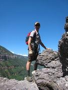Rock Climbing Photo: On the T-ride Via Ferrata