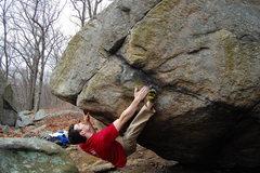 Rock Climbing Photo: The start of Buddha's Revenge