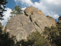 Rock Climbing Photo: Delancey Rock, Holcomb Valley Pinnacles