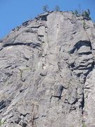 Rock Climbing Photo: Snow Creek Wall