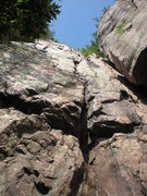 Rock Climbing Photo: Shot of the crack
