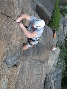 Rock Climbing Photo: 3rd pitch of Spirit of Adventure -Karl K.